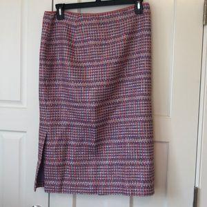 Lafayette 148 tweed skirt